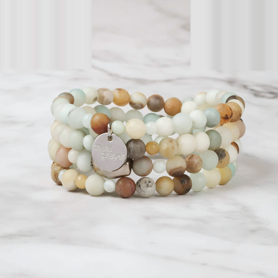 Pure Joy 108 Bead Bracelet Mala
