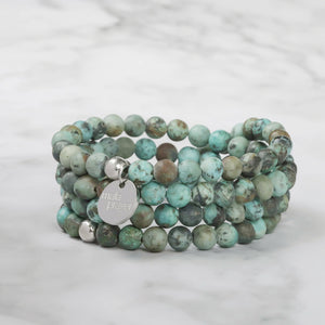 Cool Wind 108 Bead Bracelet Mala