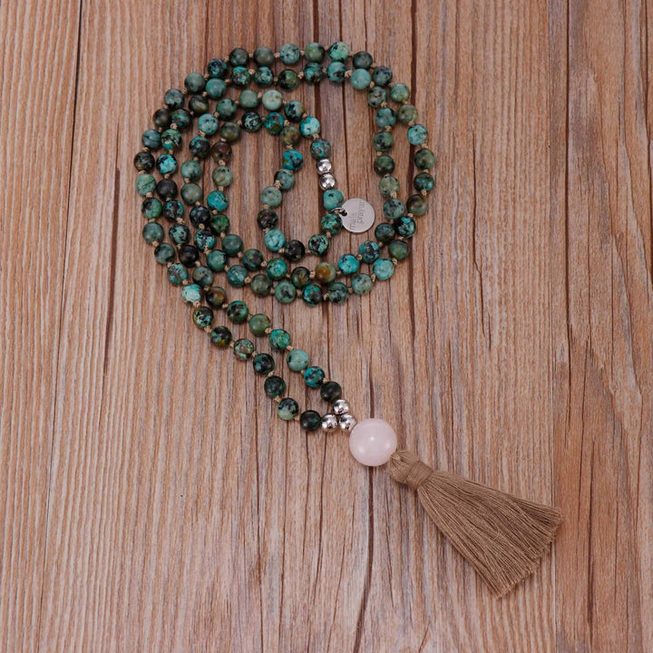 Blissful Wind Mala Necklace