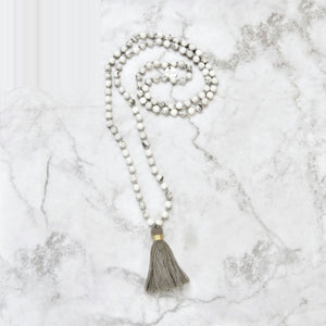 Glimmer Mala Necklace