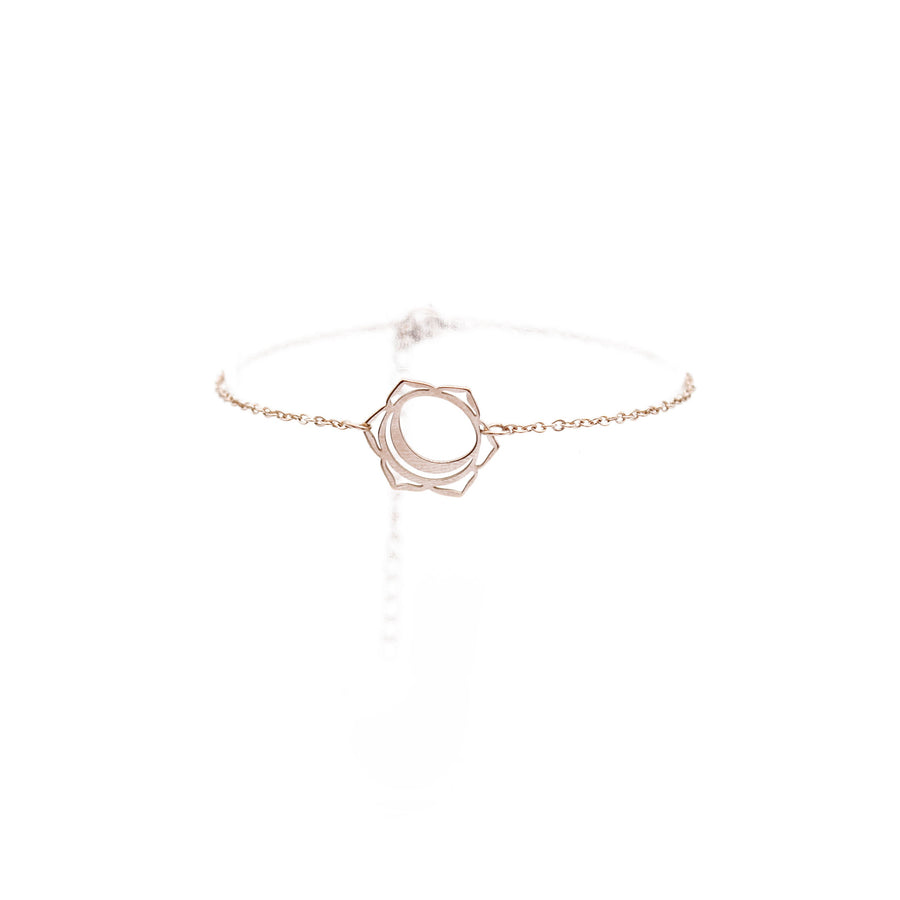 Svadhishthana Bracelet (The Sacral Chakra) 14K Rose Gold Plated