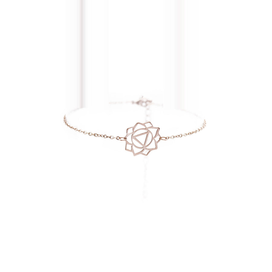 Manipura Bracelet (The Solar Plexus Chakra) 14K Rose Gold Plated