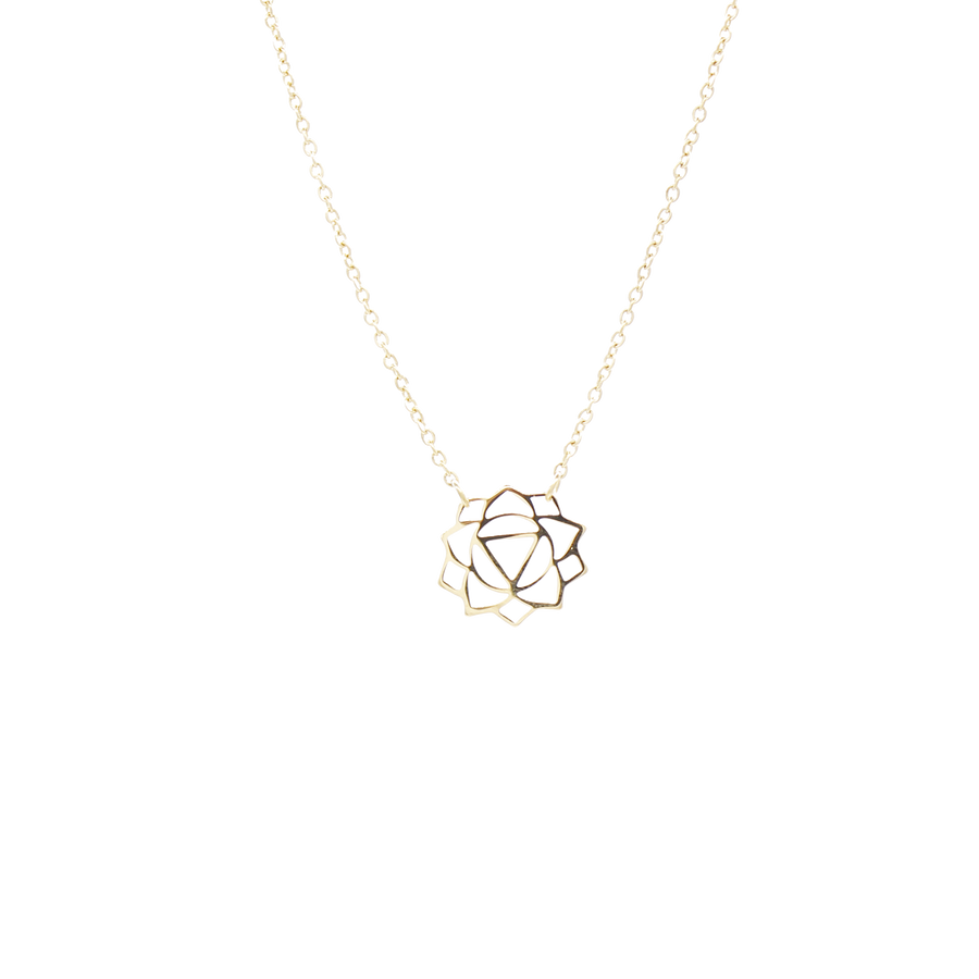 Manipura Necklace (The Solar Plexus Chakra) 14K Gold Plated