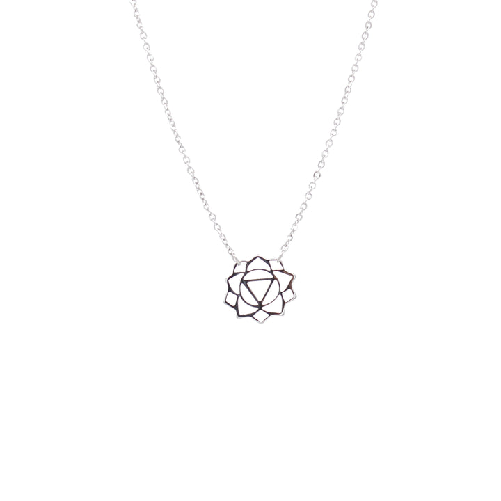 Manipura Necklace (The Solar Plexus Chakra) Silver