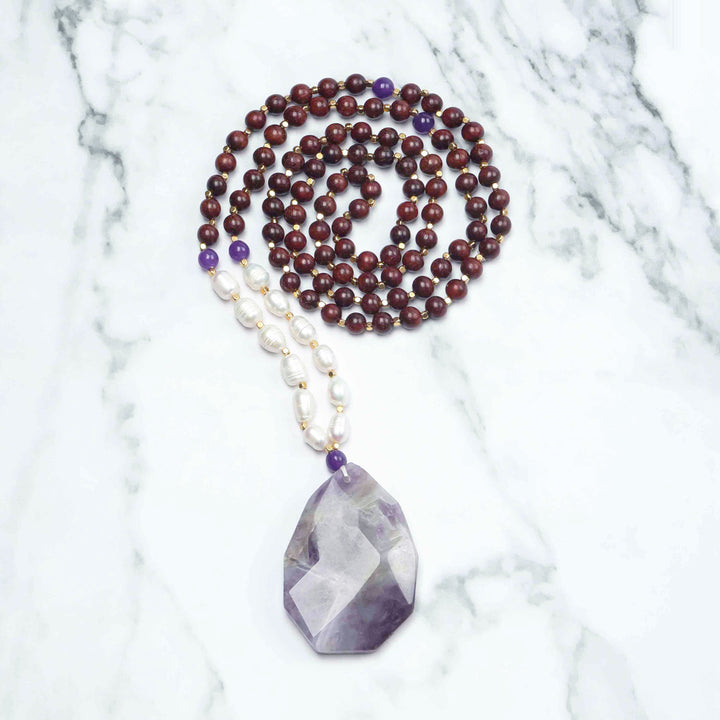 Alleviation Mala Necklace