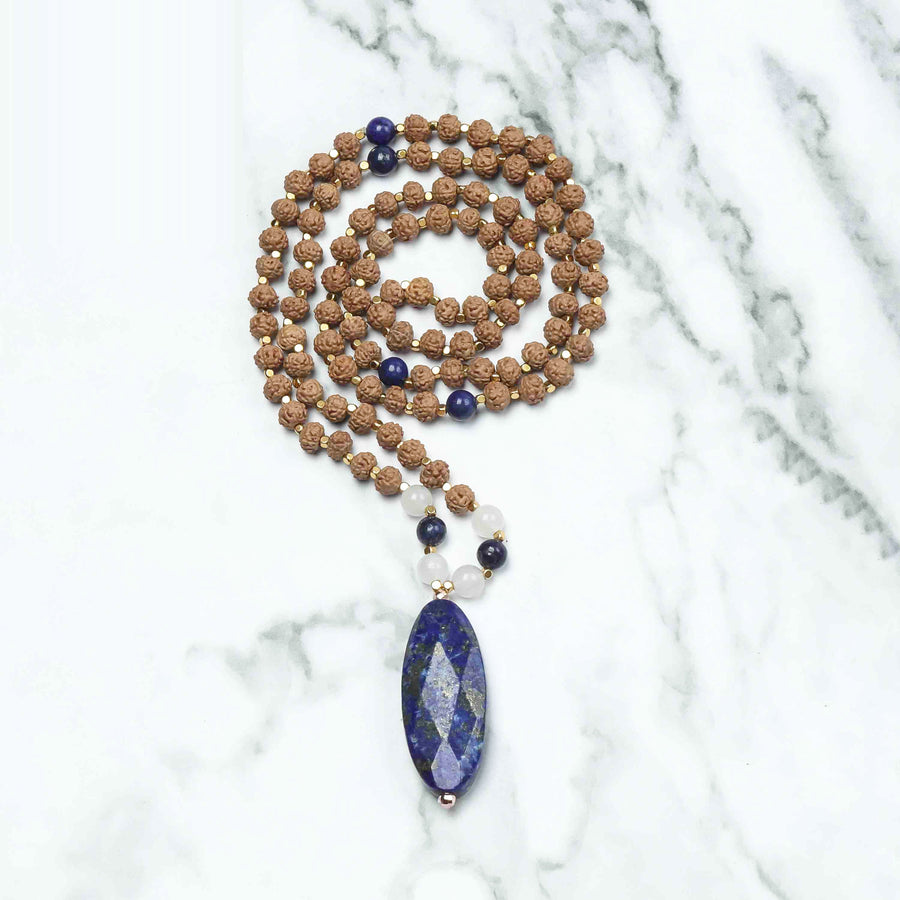 Sacred Heart Mala Necklace