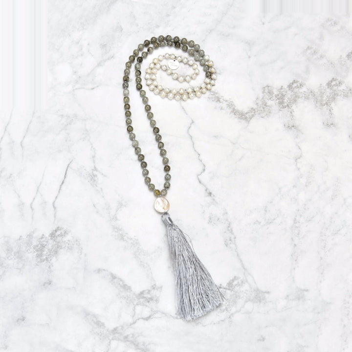 Tamasi Pearl Mala Necklace