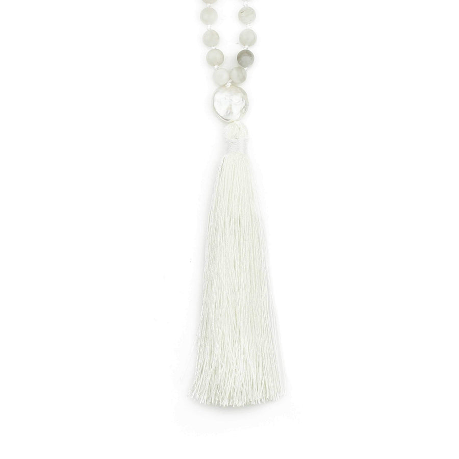 Tuhina Pearl Mala Necklace