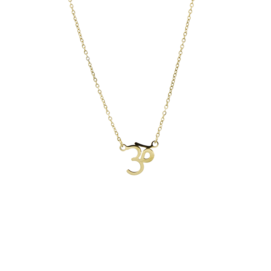 Om Sanskrit Necklace