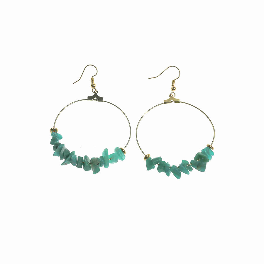 Blue Amazon Earrings
