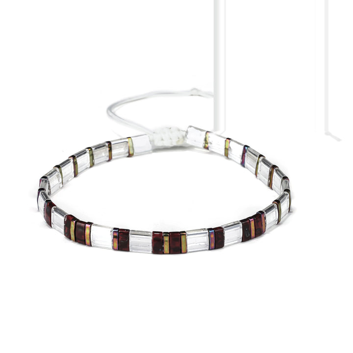 Fire Finch Tila Bracelet