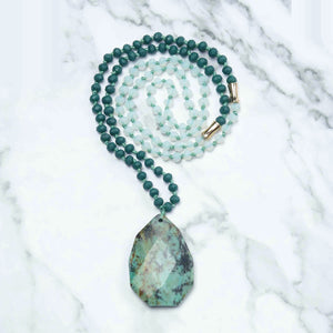 Relief Mala Necklace