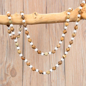 Joyful Balance Mala Necklace