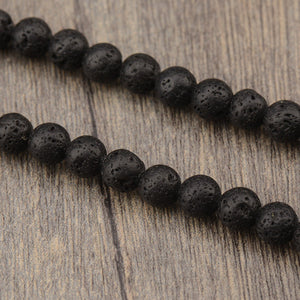Volcanic (Lava) Stone Mala Necklace