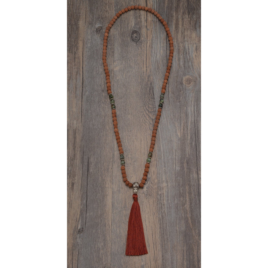 Pure Positivity Mala Necklace