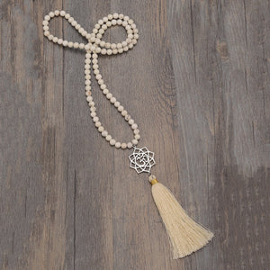 Deep Focus Mala Necklace
