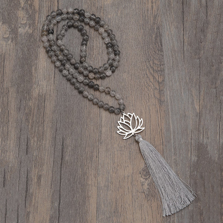 Loving Lotus Mala Necklace