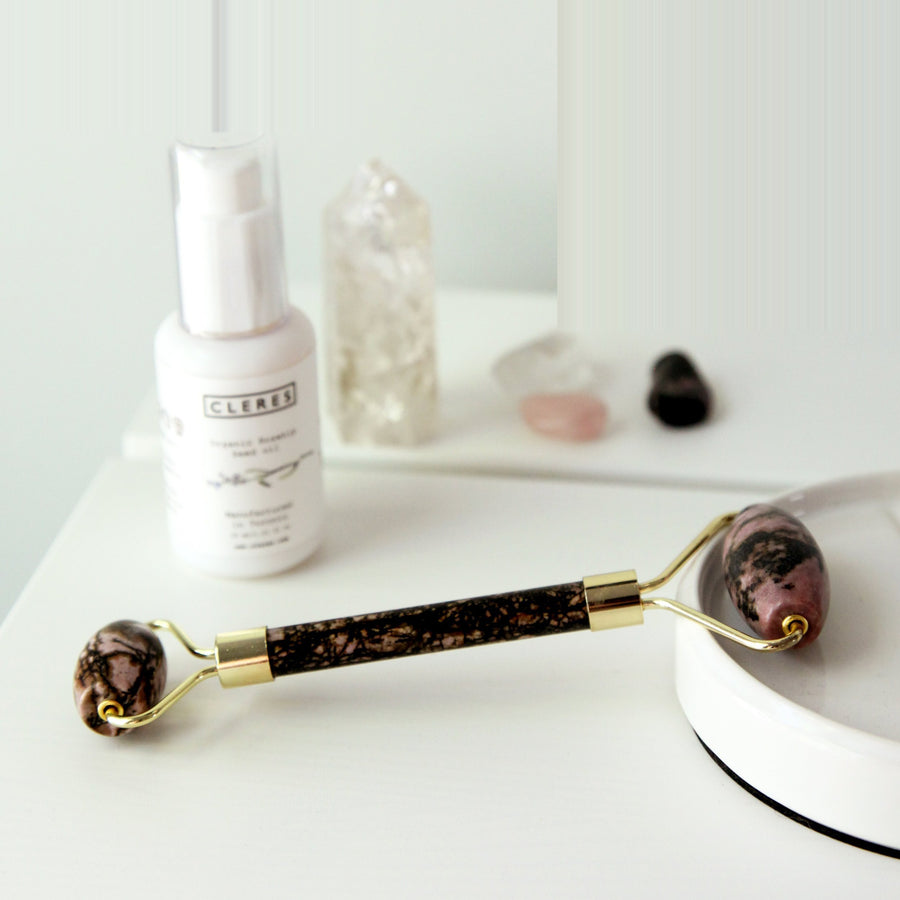 Rhodonite Face Roller