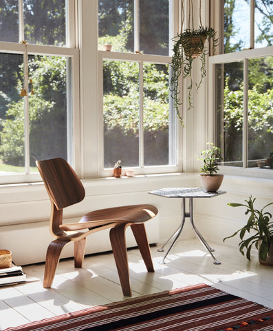 Eames® Molded Plywood Lounge Chair - Wood Base