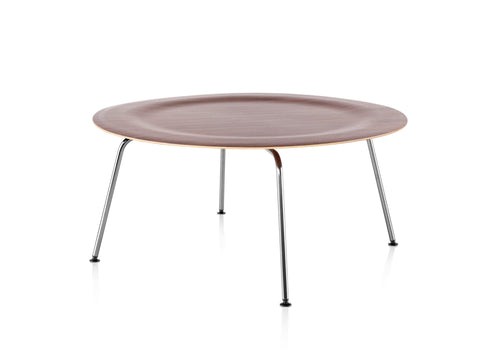 Eames® Molded Plywood Coffee Table Metal Base