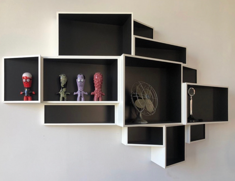 'SheLLf' Wall Bookcase by Kristalia