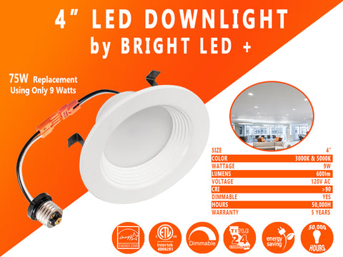 LED Downlights Recessed Retrofit Lights
