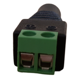 DC Connector (5 pcs) Female End with Wire Connecting Terminals