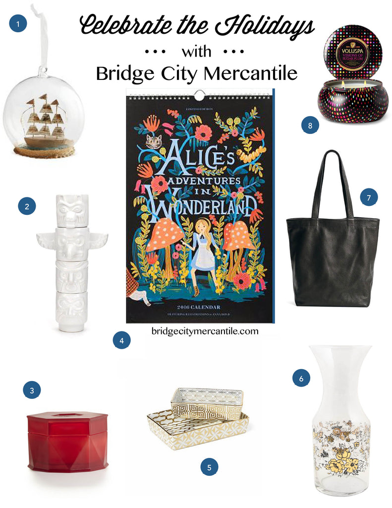 Holidays at Bridge City Mercantile In Store Products