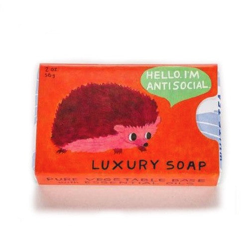 Hello. I'm Antisocial Soap
