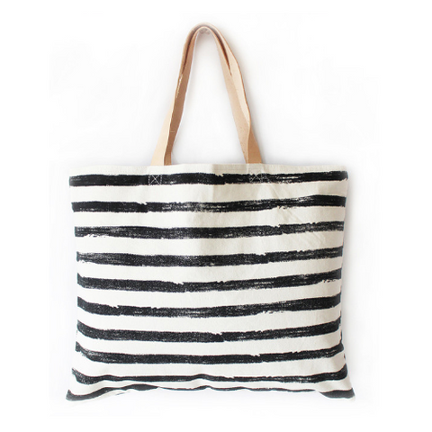 Brushstroke Canvas Bag