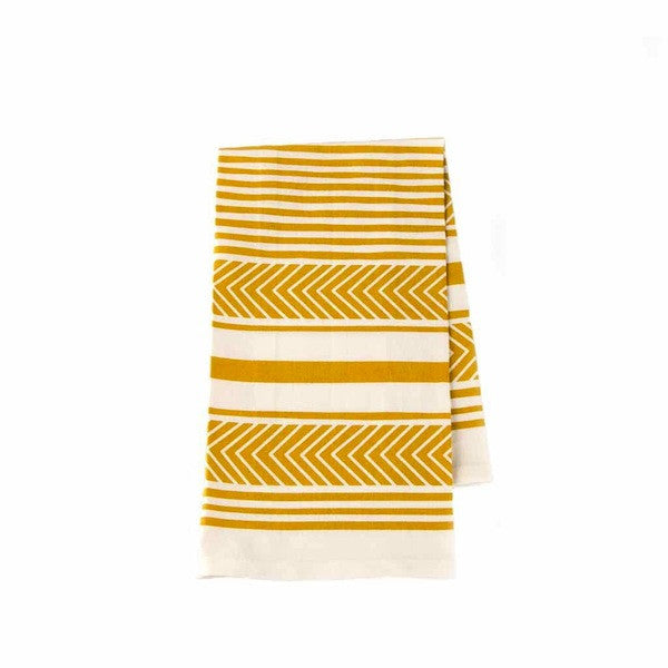 Organic Cotten Tea Towel (Citron)