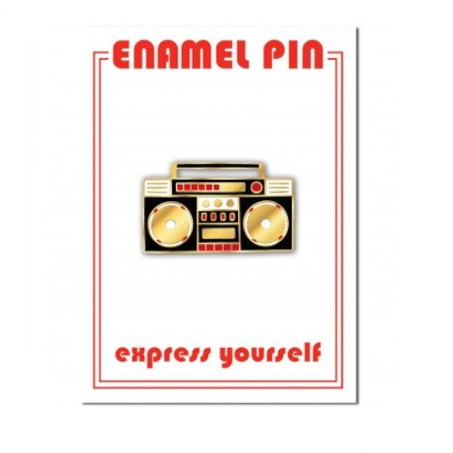Enamel Pin - Boom Box