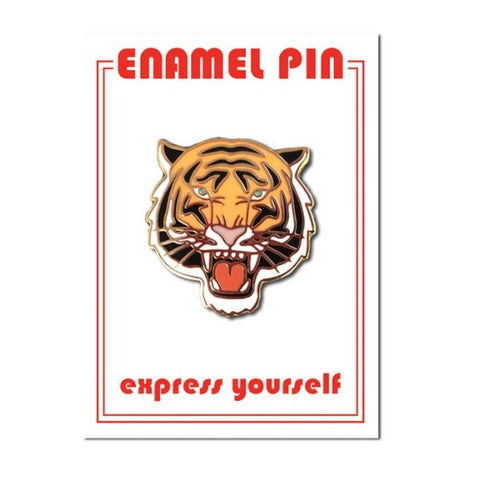 Enamel Pin - Tiger