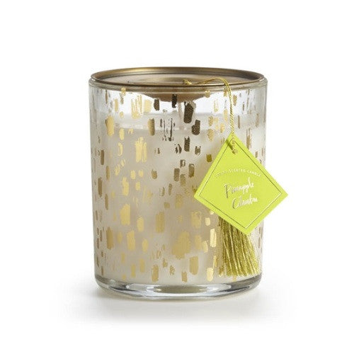 Pineapple Cilantro Glass Candle