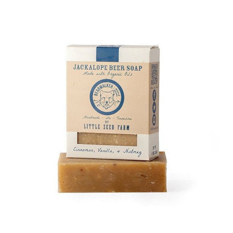 Little Seed Farm - Jackalope Beer Soap Maple Brown