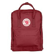 Kanken Red Backpack