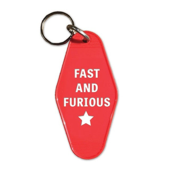 Fast and Furious Key Tag