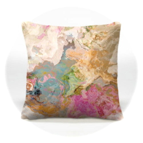 Marble Art Pillow-Dreamgirl