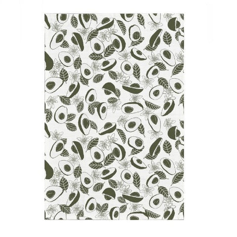 Avocado Blooms Tea Towel