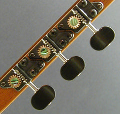 Individual with Ebony Knob and Abalone Dot