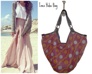 Ines Kantha Hobo Bag