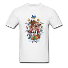 80s Best Friends T-shirt Men Game Collection T Shirt Mario Zelda Tetris Pacman Superman Tshirt Black Top Tee Clothes