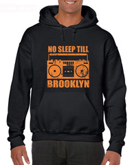 Men Fashion Cotton No Sleep Till Brooklyn New York Ny 80S Mtv Cd Mixtape Rap Hoodies Sweatshirts