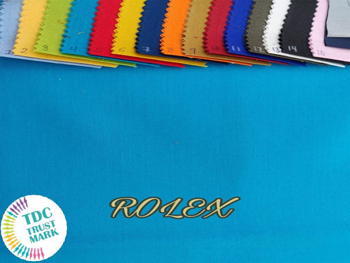 15 Colour Design Cotton Twill Fabric (10 Meters Each of Any 6 Color)