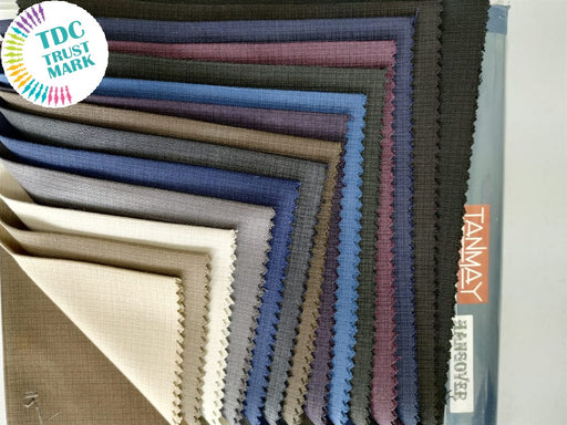Set Of Polyester Viscose Fabric (10 Meters)