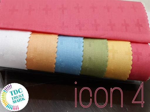 6 Colour Design Cotton Dobby shirting Fabric (10 Meters Each Color)