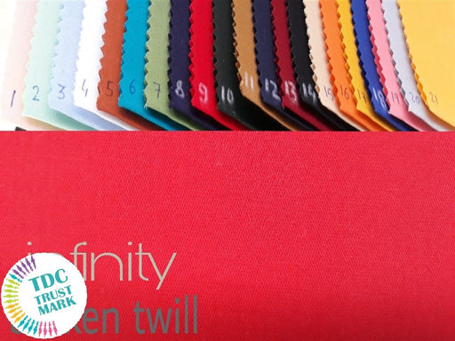 21 Colour Design Cotton Broken Twill Fabric (10 Meters Each of Any 6 Color)