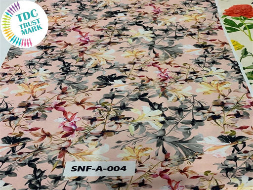 MultiColour Floral Polyester Fabric (200 Meters)