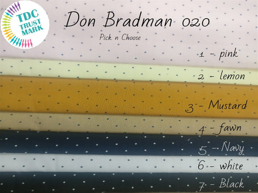 Multicolour Polka Dots Satin Fabric (Set Of Any 3, 50 Metres Each)