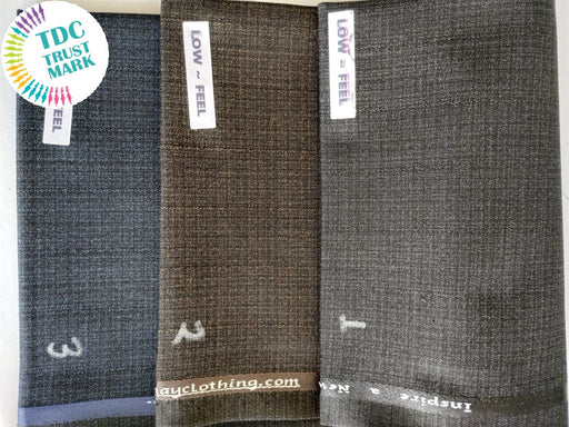 Low Feel - Fancy P/V Suiting Shade (10 Meters Each Design)